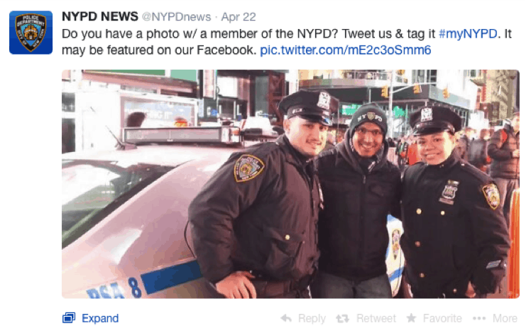 This was the least depressing photo we could find related to the hashtag
