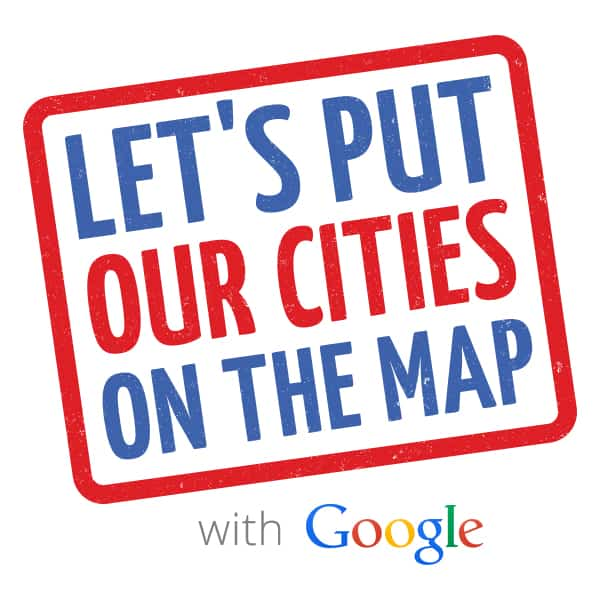Google Cities On The Map Campaign