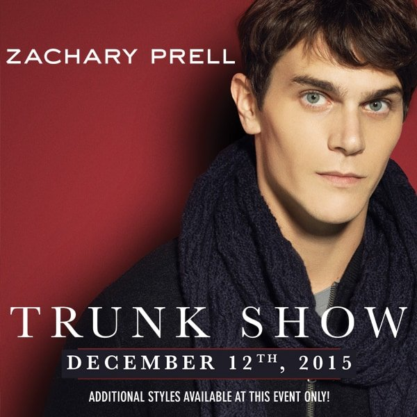 Zachary Prell Trunk Show Philadelphia