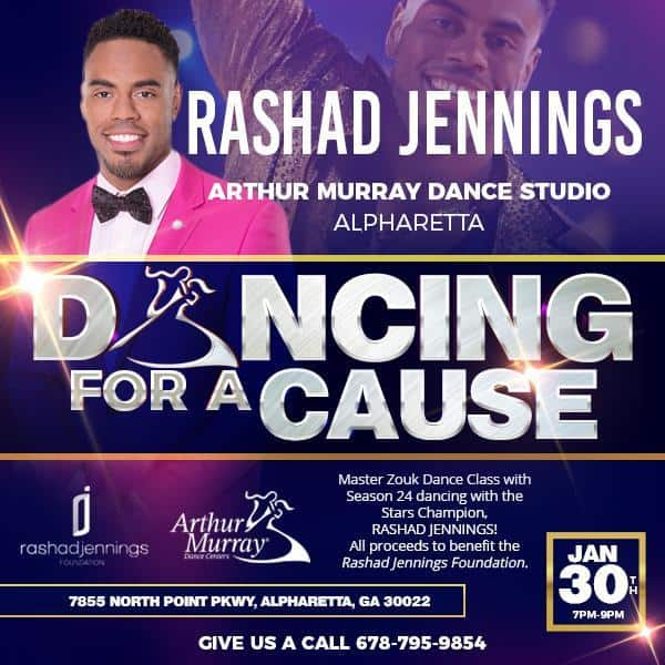 Dancing for a Cause Rashad Jennings