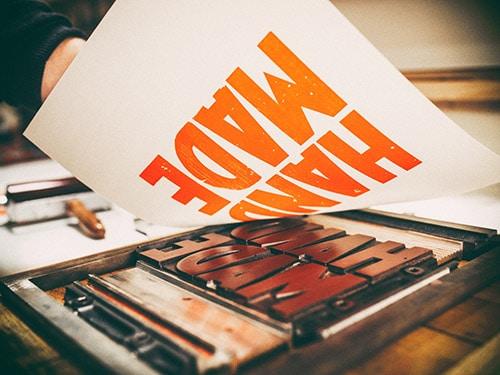 Print and poster Printing design